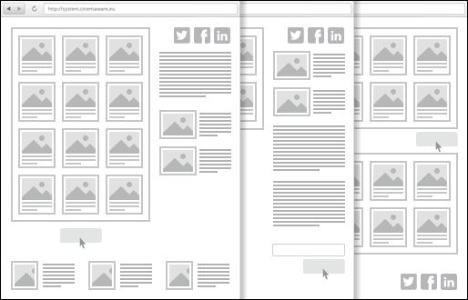Administrácia modulov stránky