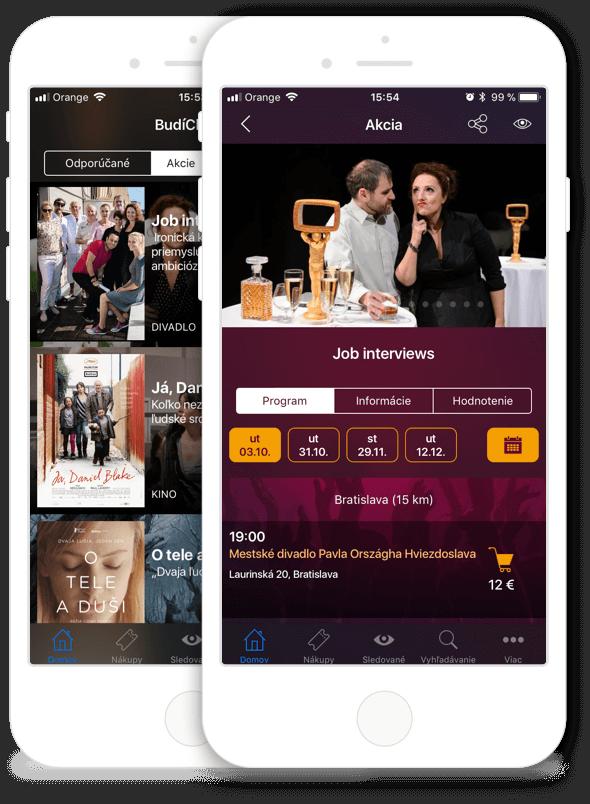 Mobilná aplikácia BudíCheck